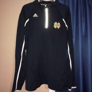 Adidas Notre Dame Zipup Light Jacket